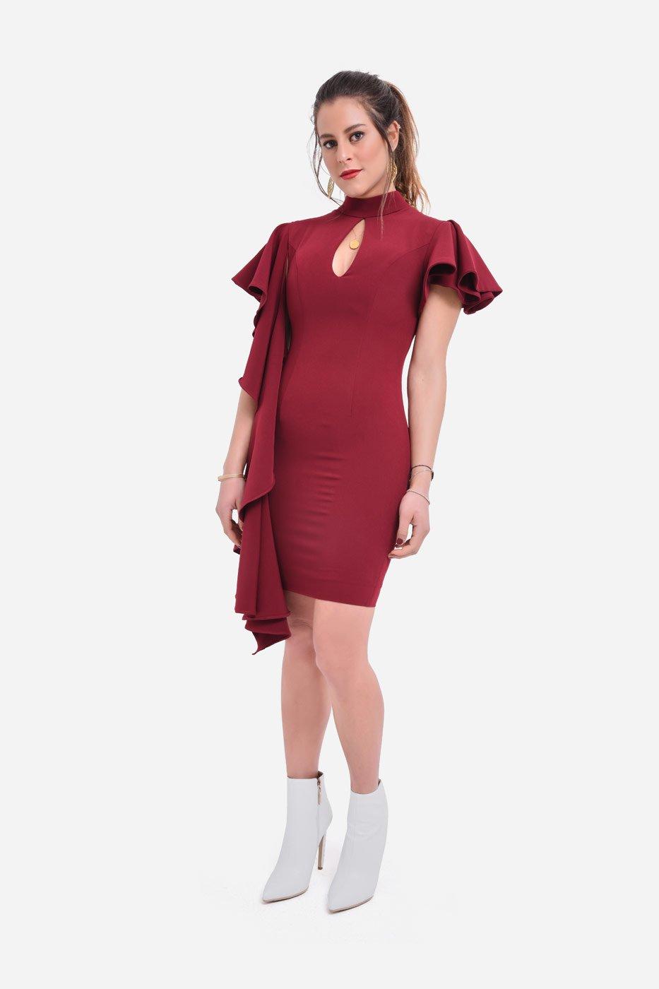 Cadillac Burgundy Dress thumbnail