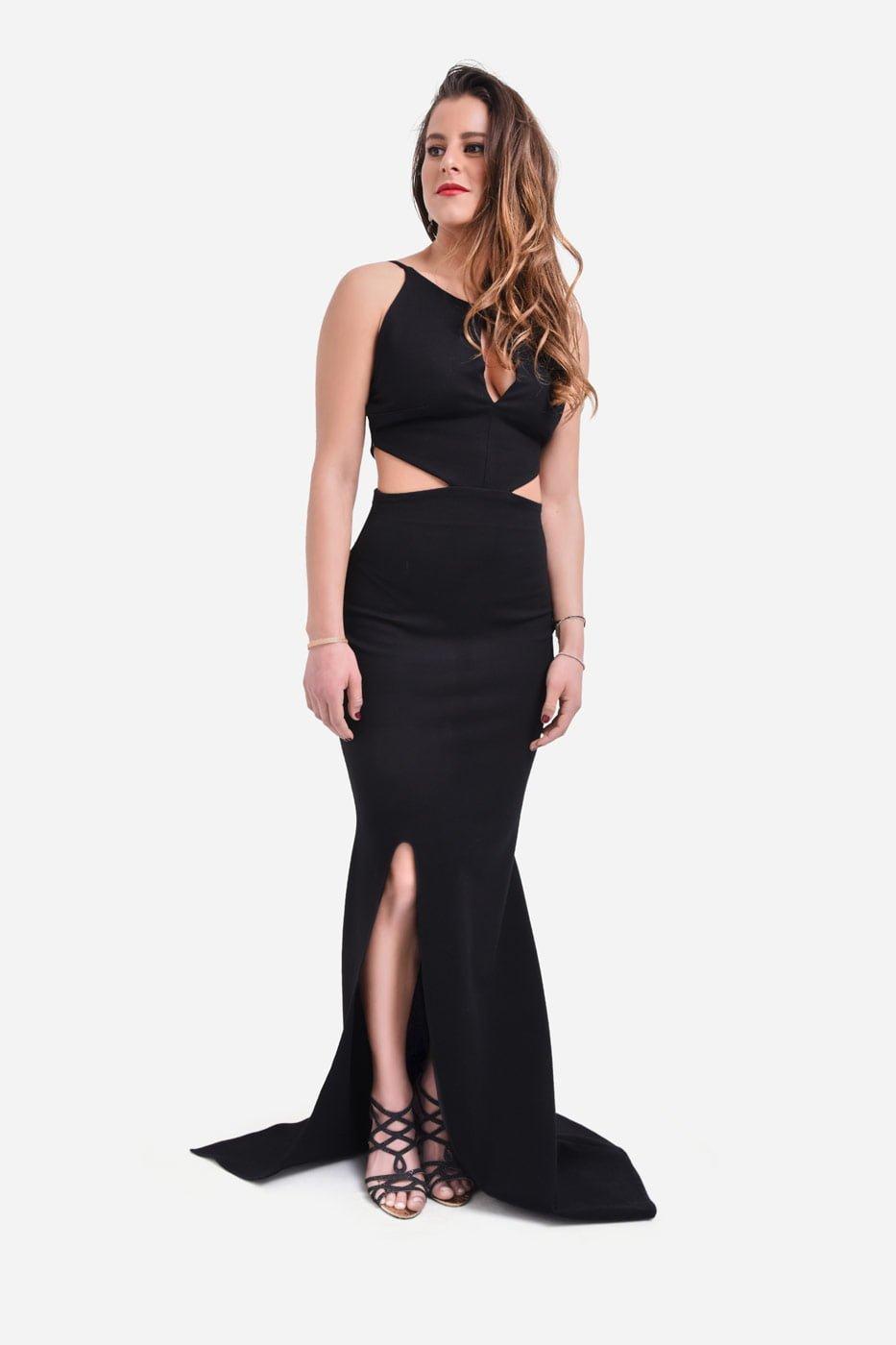 Impulsive black dress thumbnail