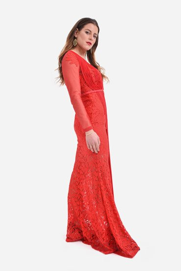 Flaunt it red dress thumbnail