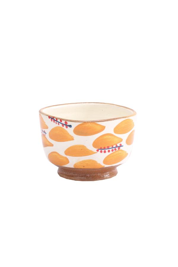 A Fruit Bowl In Orange & White – Malaika thumbnail
