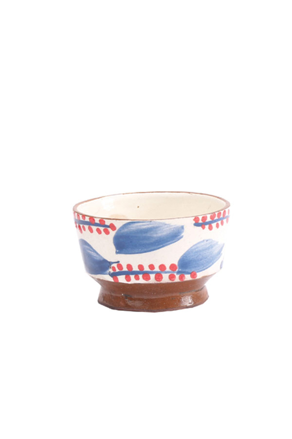 A Fruit Bowl In Red & Blue – Malaika thumbnail