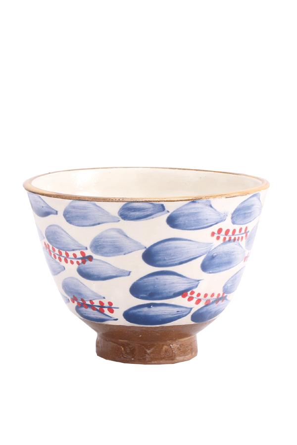A Rice Bowl In Red & Blue – Malaika thumbnail