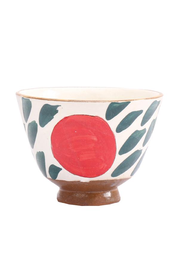 A Rice Bowl In Red & Green – Malaika thumbnail