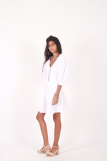 Late Night White Dress thumbnail