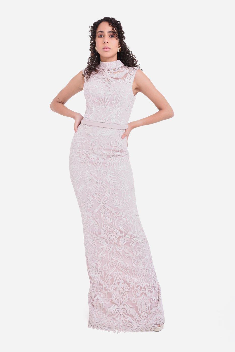 Milan lace dress thumbnail