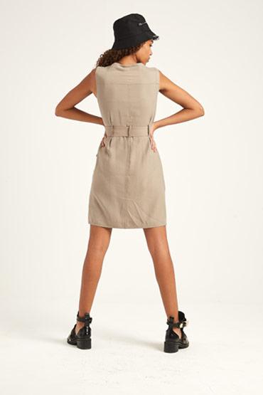 Soft Utility Dress – Karen Millen thumbnail