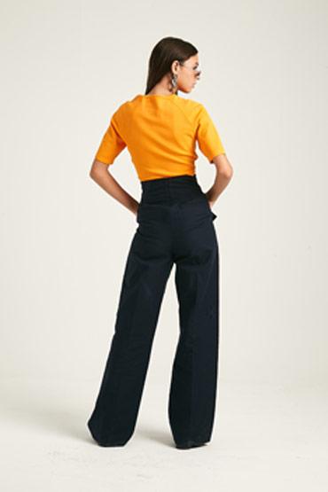 Tie Waist Eyelet Trouser – Karen Millen thumbnail