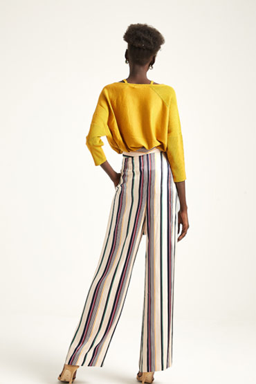 Fluid Stripe Trouser – Karen Millen thumbnail