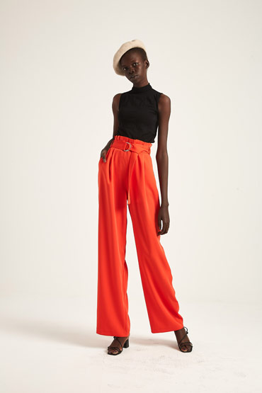 Soft Daywear Pants – Karen Millen thumbnail