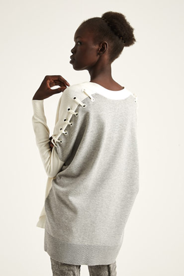 Color block Knit Cardigan – Karen Millen thumbnail