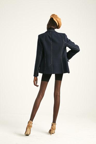 Contrast Stitch Bianca Jacket – Karen Millen thumbnail