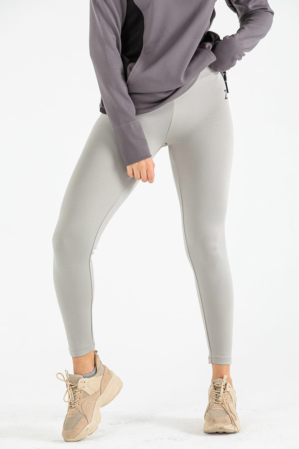 Keep Your Pace Plain Leggings Grey – IZZY thumbnail