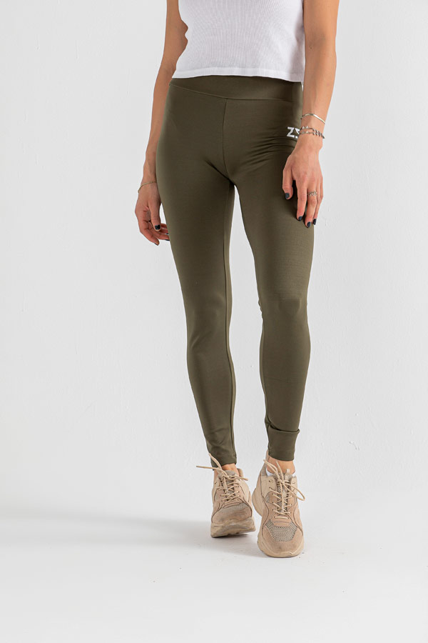 Keep Your Pace Plain Leggings in Olive – IZZY thumbnail