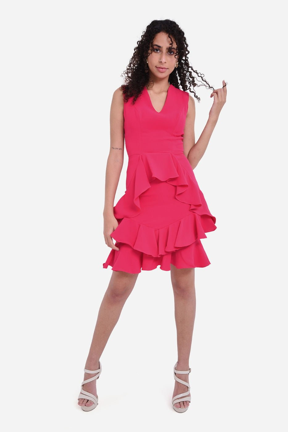 Ruffle it dress thumbnail