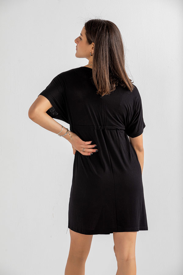 Day Time Dress In Black – Believe thumbnail
