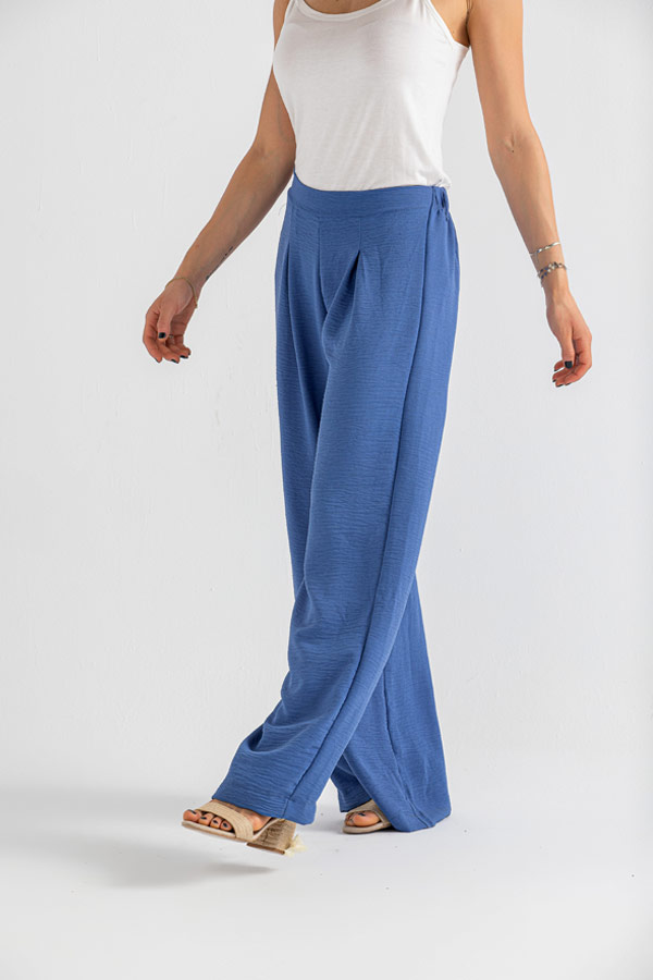 For this Holiday Pants In Blue – Believe thumbnail