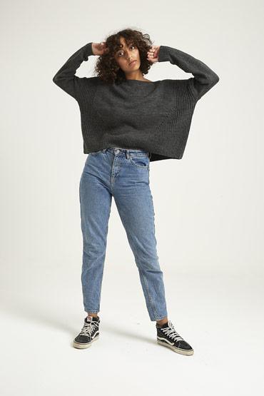 Mixed Pointelle Sweater – Aeropostale thumbnail