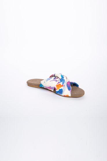 Cross Over Tie Dye Slippers – Misura thumbnail