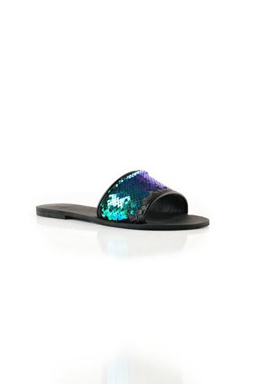 Peacock Black Slippers – Misura thumbnail