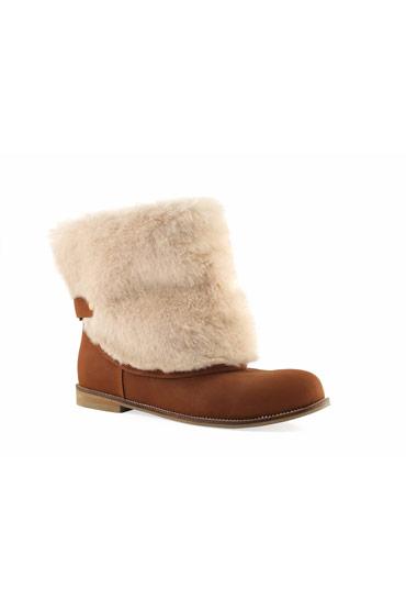 Maya Boots In Camel Brown – Misura thumbnail