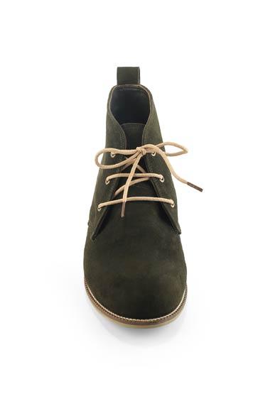 Morgan Boots In Olive Green – Misura thumbnail