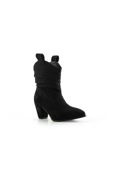 Monique Boots In Black – Misura thumbnail