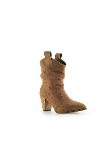 Monique Boots In Beige – Misura thumbnail