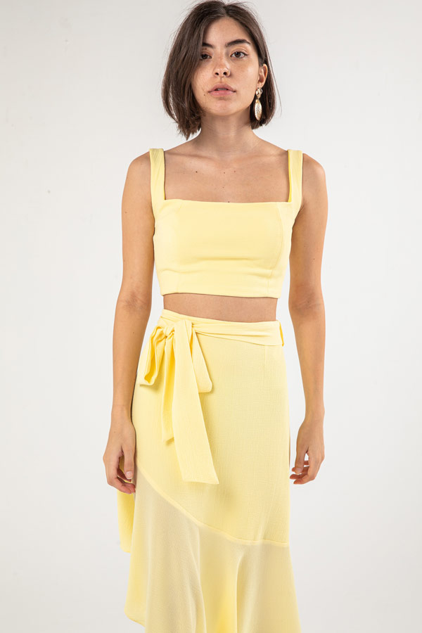 The Cindy Top In Yellow – Noctiluca thumbnail