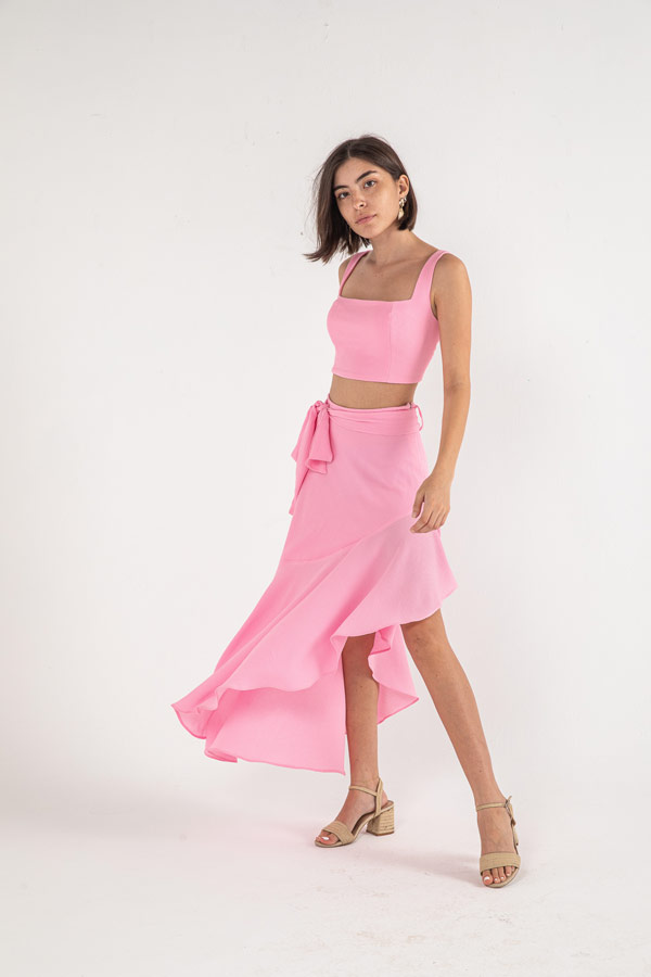 The Cindy Top In Pink – Noctiluca thumbnail
