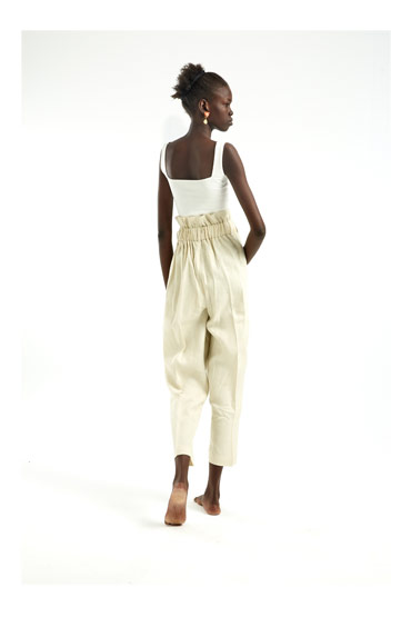 Classic High Waist Pants – Sara El Emary thumbnail