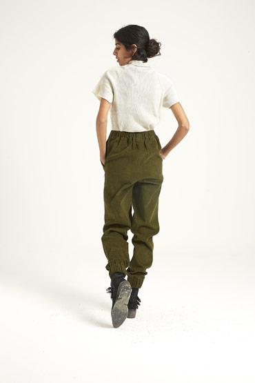 The Corduroy Green Pants thumbnail