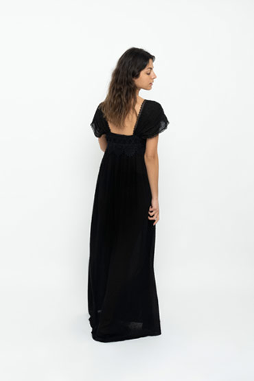 The Night Dress In Black thumbnail