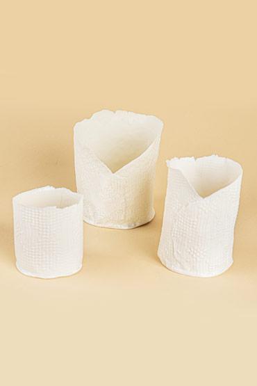 Large Porcelain Candle holder – Madu thumbnail