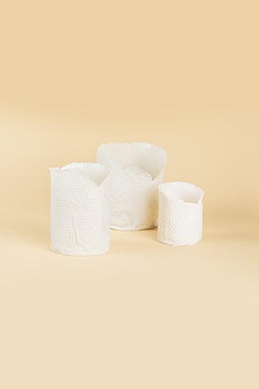 Medium Porcelain Candle holder – Madu thumbnail