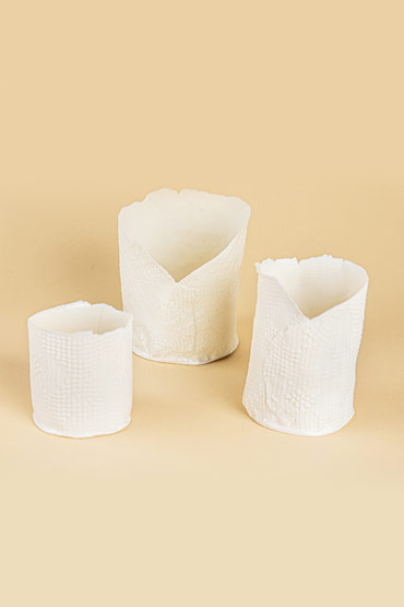 Small Porcelain Candle Holder – Madu thumbnail
