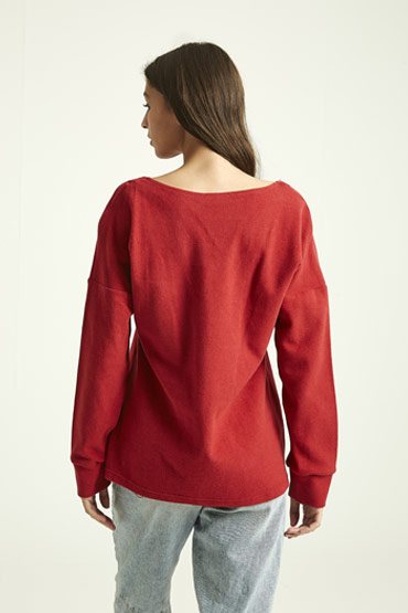 Chill In Red Sweatshirt thumbnail