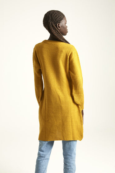 A Dress Or A Jumper In Mustard Yellow thumbnail