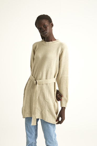 A Dress Or A Jumper In Beige thumbnail