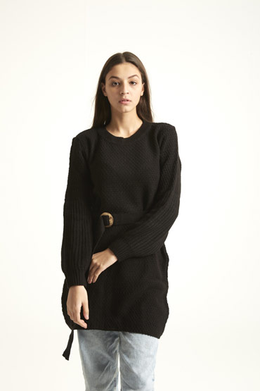 A Dress Or A Jumper In Black thumbnail
