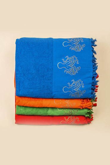 Beach Towel Octopus Printed  – Malaika thumbnail