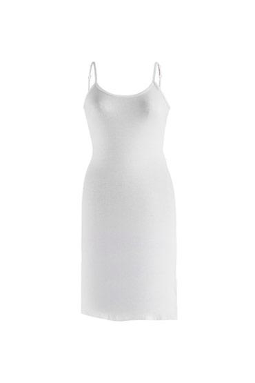 Cami Dress short White – Carina thumbnail