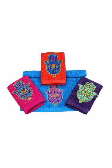 Colorful Kaff Zaghrafa Towel Set – Ticas thumbnail
