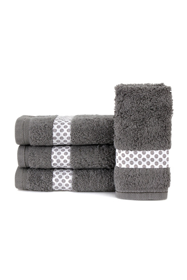 Grey Lolliopop Guest Towel Set – Nillens thumbnail
