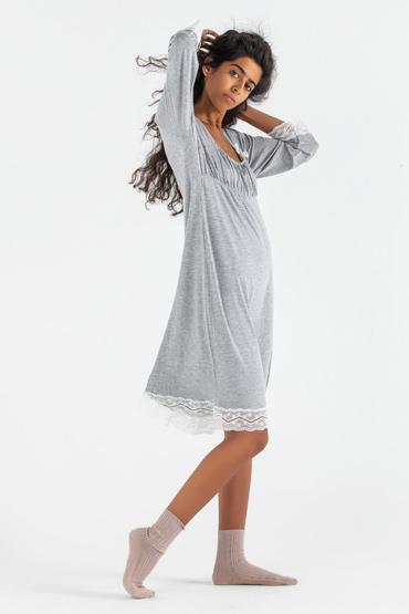 Lace Panel Night Dress – Carina thumbnail