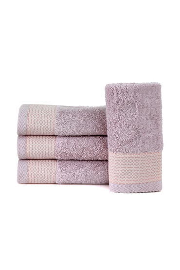 Lilac Arabesque Guest Towel Set – Nillens thumbnail
