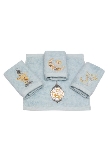 Ramadan Blends Towel Set In Blue – Ticas thumbnail