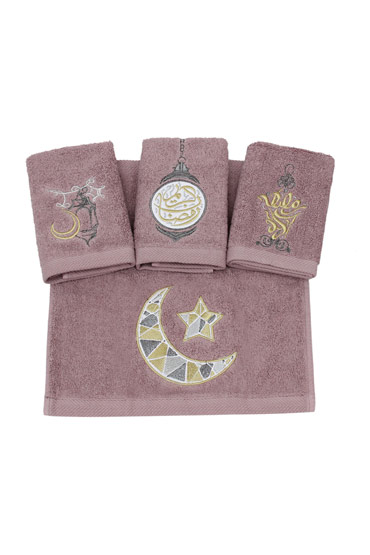 Ramadan Blends Towel Set In Violet – Ticas thumbnail