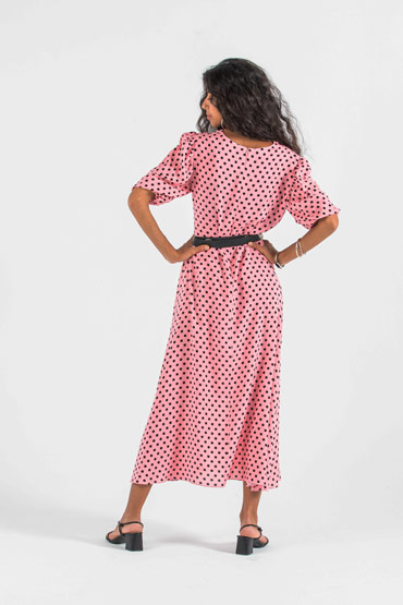 Woman on Top Polka Dress thumbnail