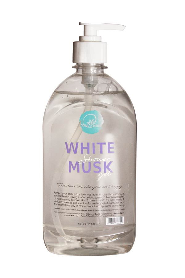 White Musk Shower Gel – Soul And More thumbnail