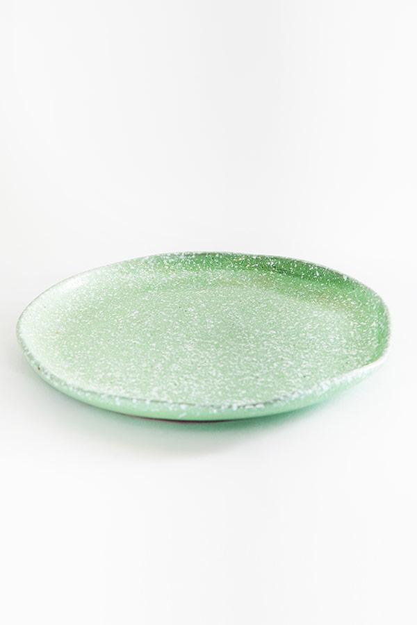 Dinner Time Plate In Green thumbnail